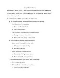 Essay Outline Exles That You Can Use by Essay Outline Exles That You Can Use Worksheet Printables Site