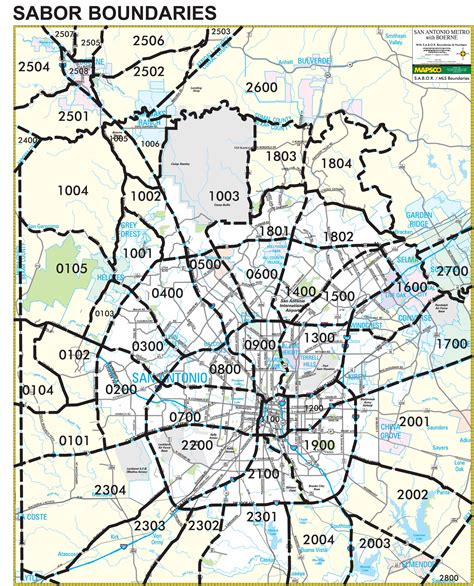 san antonio texas zip codes map area map