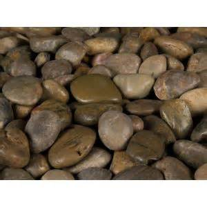 home depot river rock ms international 40 lb imperial river rock bag