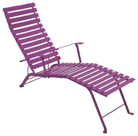 folding chaise lounge chairs fermob bistro folding chaise lounge modern indoor