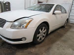 2005 Nissan Maxima Parts Parting Out 2005 Nissan Maxima Stock 150088 Tom S