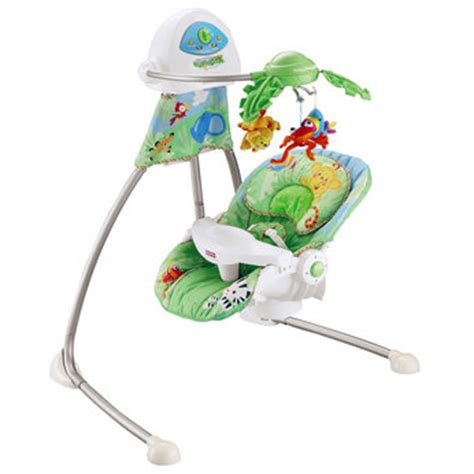 rainforest cradle swing fisher price fisher price rainforest healthy care highchair booster seat