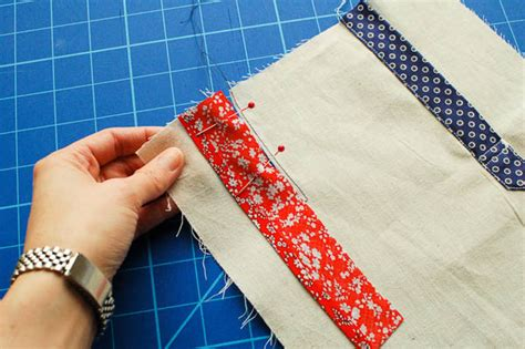 learning to sew a shirt placket cut it out stitch it up sewing a continuous bound placket the simple one sewaholic