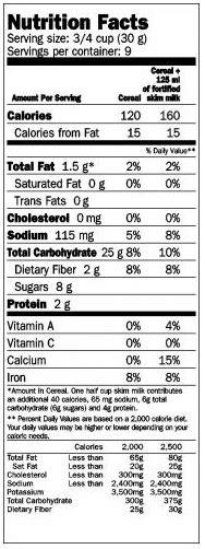captain nutritional facts captain crunch nutrition facts khafre