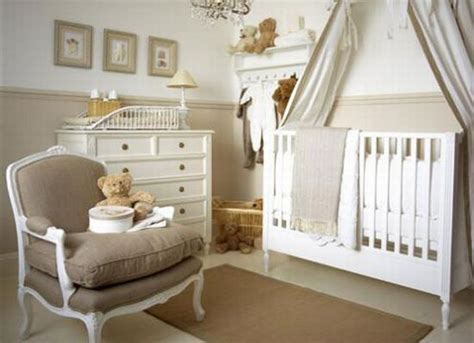 beautiful beige nursery baby room ideas