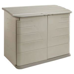 Rubbermaid Medium Storage Shed by Rubbermaid Horizontal Storage Shed 38 Cubic