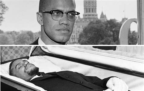 famous people in their caskets malcolm x funeral photo matter of opinion