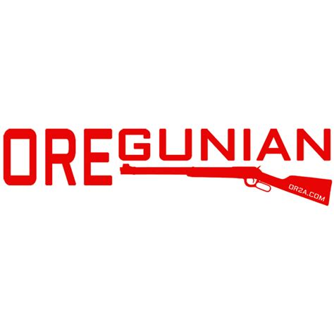 Oregunian Sticker oregunian winchester sticker oregun shooters