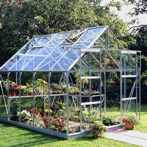 greenhouse warehouse halls magnum 10x8 high eaves greenhouse ebay