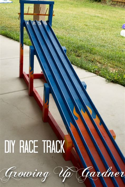 Top Diy Home Decor Blogs by Growing Up Gardner Diy Race Track Tutorial