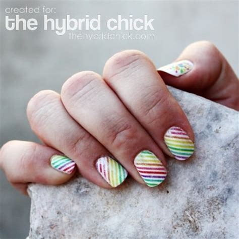 How To Make Paper Nails - 12 nail tutorials for pretty fingernails tip junkie
