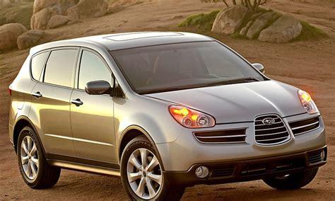 2006 2007 subaru b9 tribeca pre owned car news auto123 subaru b9 tribeca 2006 2007 reviews technical data prices
