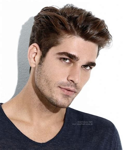 short hair at back longer on top men haircut short sides and back long top men hairstyles
