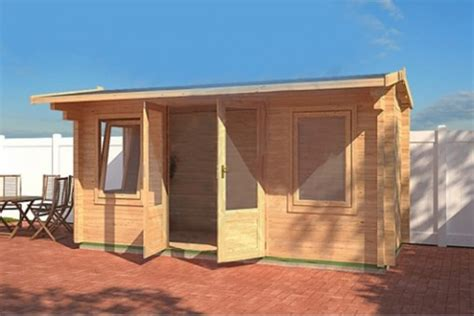 Log Cabin Wood Preserver by Untreated Norwich Log Cabin 4 5m X 2m