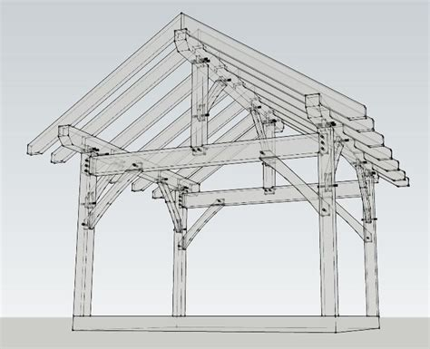 19x22 timbered pavilion timber frame hq 84 best images about pavilions and pergolas on pinterest