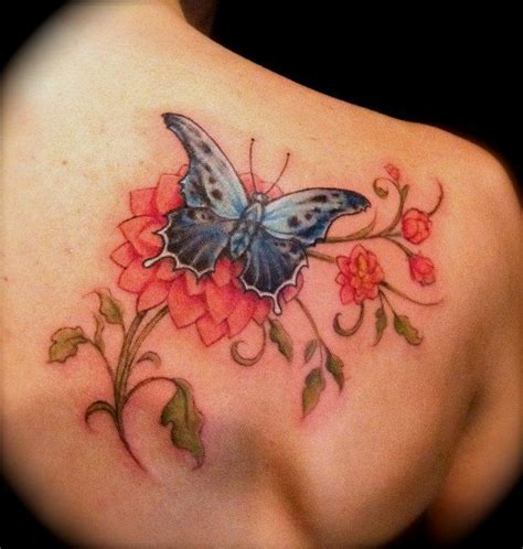 powerline tattoo tattoos jessica brennan flower