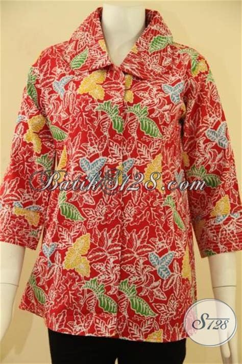 Baju Cewek Bahan Katun Ld 105 atasan batik cewek murah meriah cantik menawan