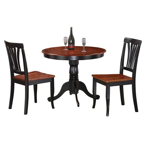 Small Two Chair Dining Set 3 Kitchen Nook Dining Set Small Kitchen Table And 2 Kitchen Chairs Ebay