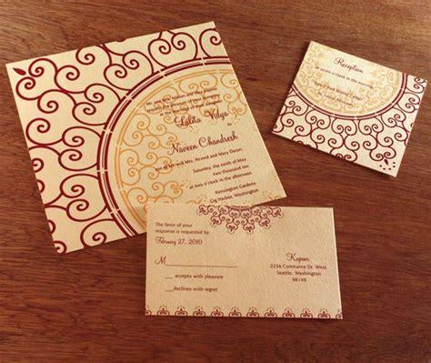 wedding invitation indian style indian wedding invitation invitation style flat