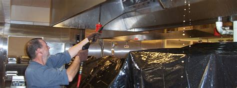 Kitchen Exhaust Cleaning by Cleaning A Kitchen Exhaust System In Steps
