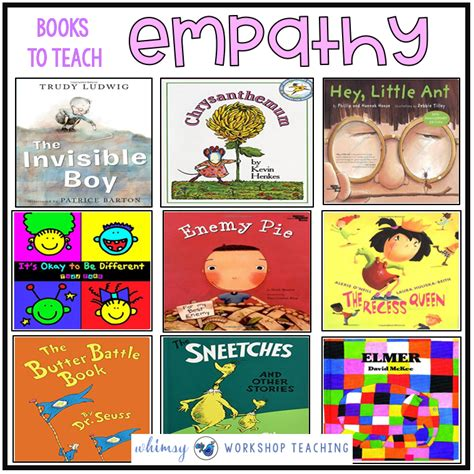 picture books to teach empathy teaching empathy and kindness a book list whimsy