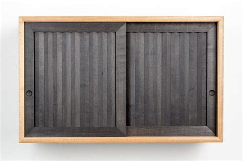 Half Blind Dovetails Pleated Wall Cabinet Small Wall Hanging Keepsake Cabinet