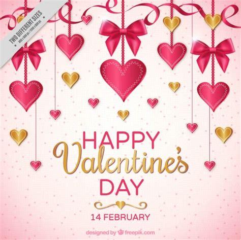 translate happy valentines day to 装飾吊りニースバレンタインの背景 ベクター画像 無料ダウンロード