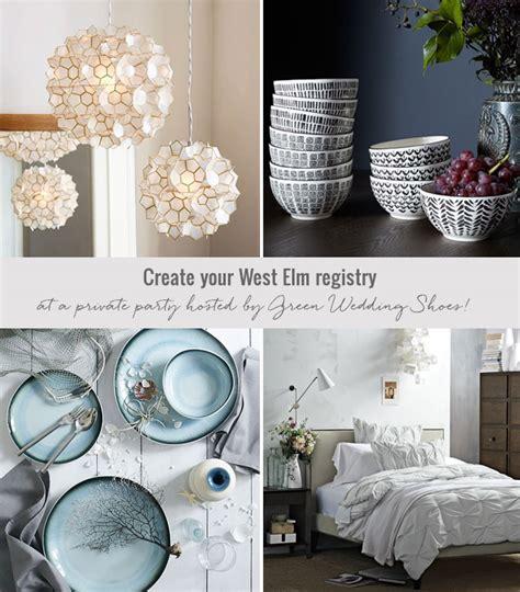 Wedding Registry West Elm by Green Wedding Shoes West Elm A Wedding Green