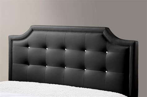 Black Headboard Clearance by Carlotta Black Modern Bed With Upholstered Headboard King Size 317 Chicago Furniture