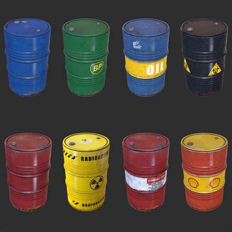 Barrel Pack 3d barrel pack