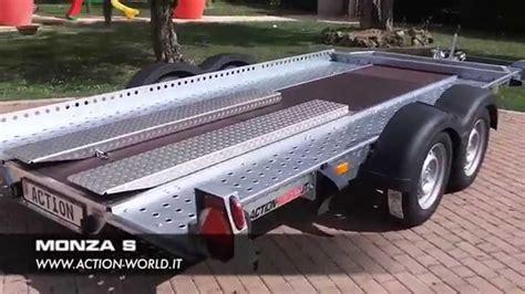 rimorchio porta auto rimorchio trasporto auto modello monza s