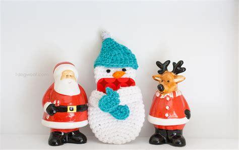Gift Card Holder Pattern - snowman gift card holder free crochet pattern