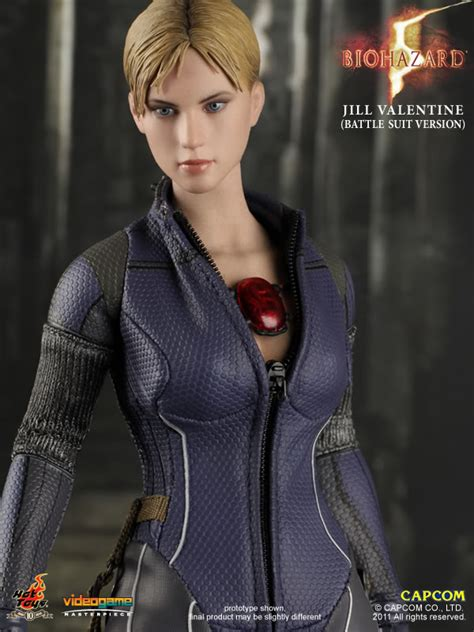 imagenes hot de jill valentine female action figure blog hot toys biohazard 5 jill