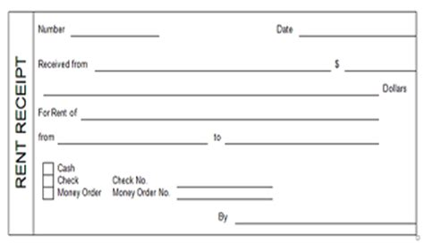 brokerage bill format for rent house rent receipt template 1