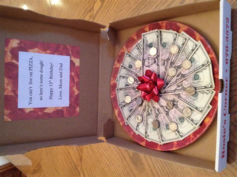 Origami Pizza - 17 best images about gifts on creative pizza