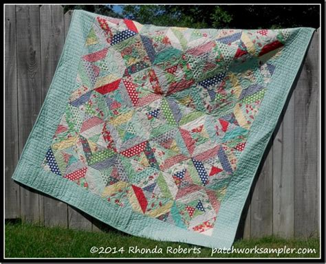 Jelly Roll Patchwork Quilt Patterns - jelly roll quilt patchwork sler