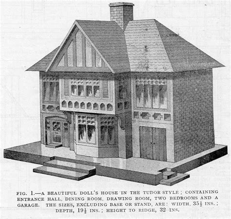 tudor dolls house plans tudor style dolls house plans home design and style