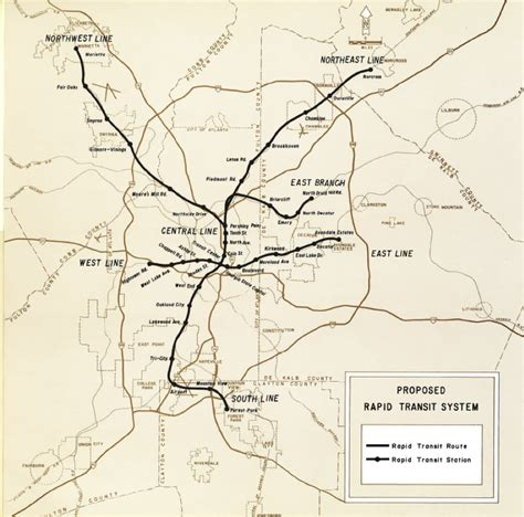 map of atlanta marta why marta s lack of expansion isn t as bad as you think