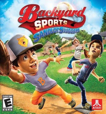 backyard baseball free download full version backyard sports sandlot sluggers free download pc games
