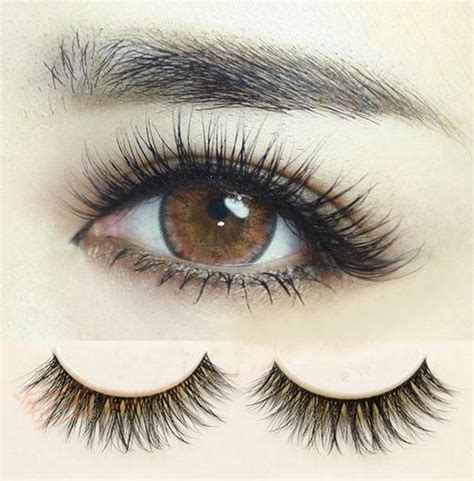 so real 3d eyelashes thick eyelashes criss