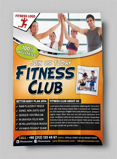 Fitness Flyer Exles Free Premium Templates Fitness Flyer Template