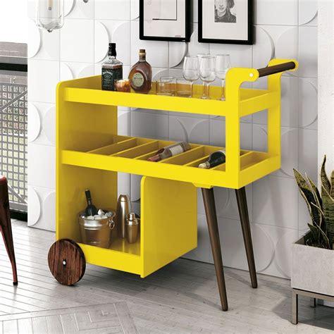 aparador barzinho aparador barzinho retr 244 baden c espelho amarelo edn m 243 veis