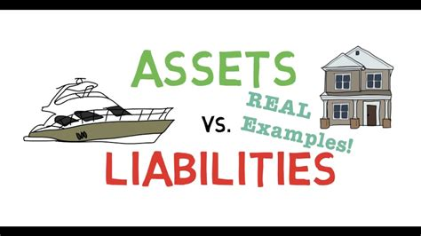 Asset And Liability Search Assets Vs Liabilities With Exles