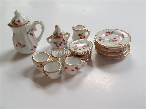 Ethnic Styles Kyushu Tea Set by ᑐ1 12 Mini Dollhouse ᐃ Miniature Miniature Kitchen
