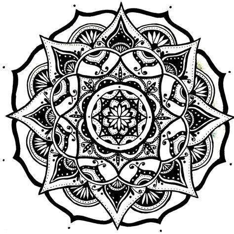 simple pattern mandala mandala designs moonlitwoodland quick simple mandala