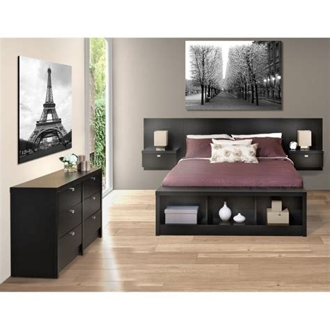 3 piece bedroom sets 3 piece bedroom set with dresser in black bbx bhhx bed pkg3