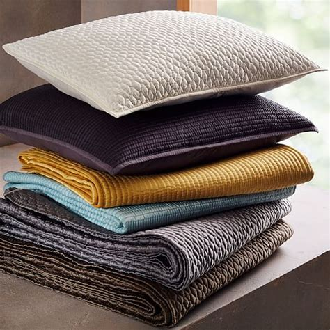 Channel Stitch Coverlet West Elm by Channel Stitch Coverlet West Elm