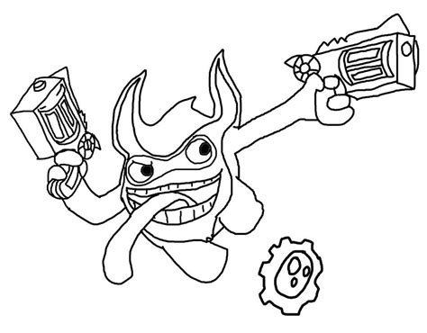 triggerhappy free colouring pages