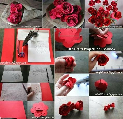 How To Make Roses Out Of Paper - rolled up paper d i y paper paper