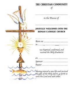 full communion certificates rcia certificates mckay